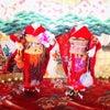 羊毛フェルト : 花フェルト®︎ レッスンで楽しむ和模様のマフラーと着物ドールの画像