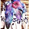 羊毛フェルト : 手づくり大好き!花フェルト®︎のリーフマフラーでおしゃれを演出!の画像
