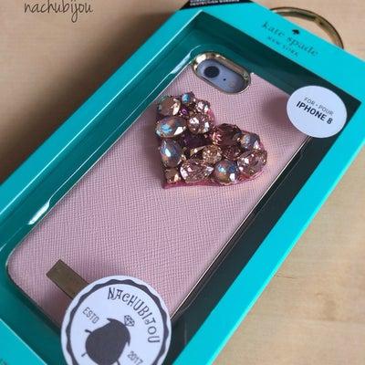 スワロフスキー新色nachubijou スマホケース✨の記事に添付されている画像