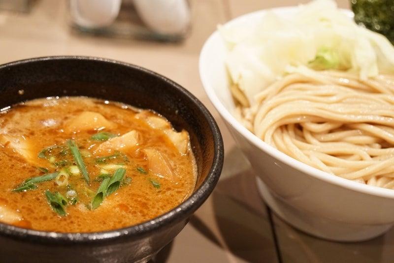 海老 つけ麺 新宿