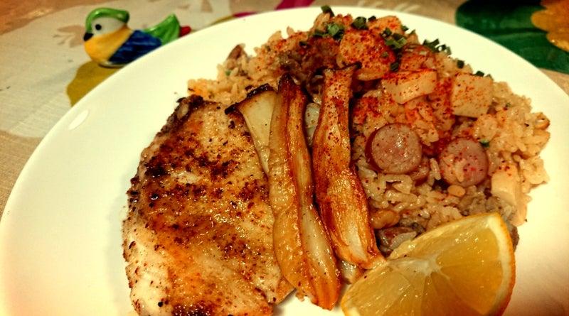 JAMBALAYA(ジャンバラヤ)~ケイジャン料理 | マービーのタリラリランの ...