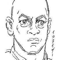 似顔絵#1607_デンゼル・ワシントンの記事に添付されている画像