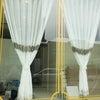 エステ店舗 施工事例~アンティーククラシック調レースカーテン~の画像