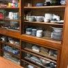 (私の実家)食器棚。 ビフォー&アフター の画像