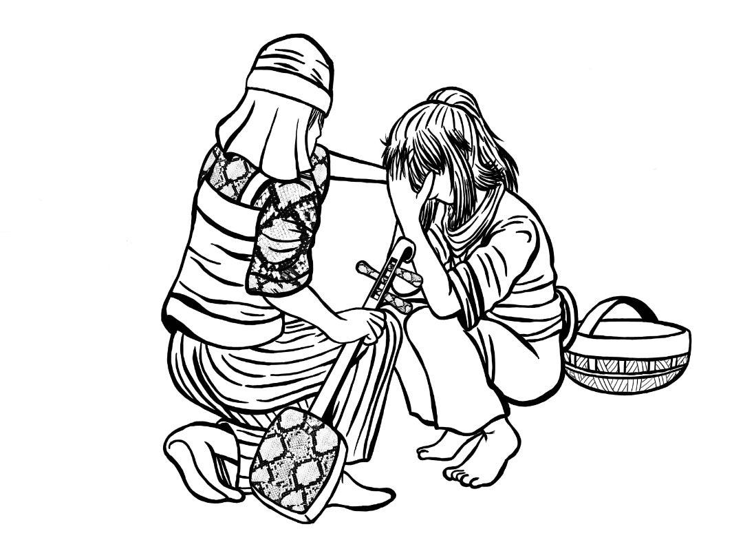 ホラブロ 朗読劇イラスト制作
