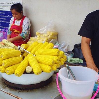 タイ旅:とうもろこし屋台で♫の記事に添付されている画像