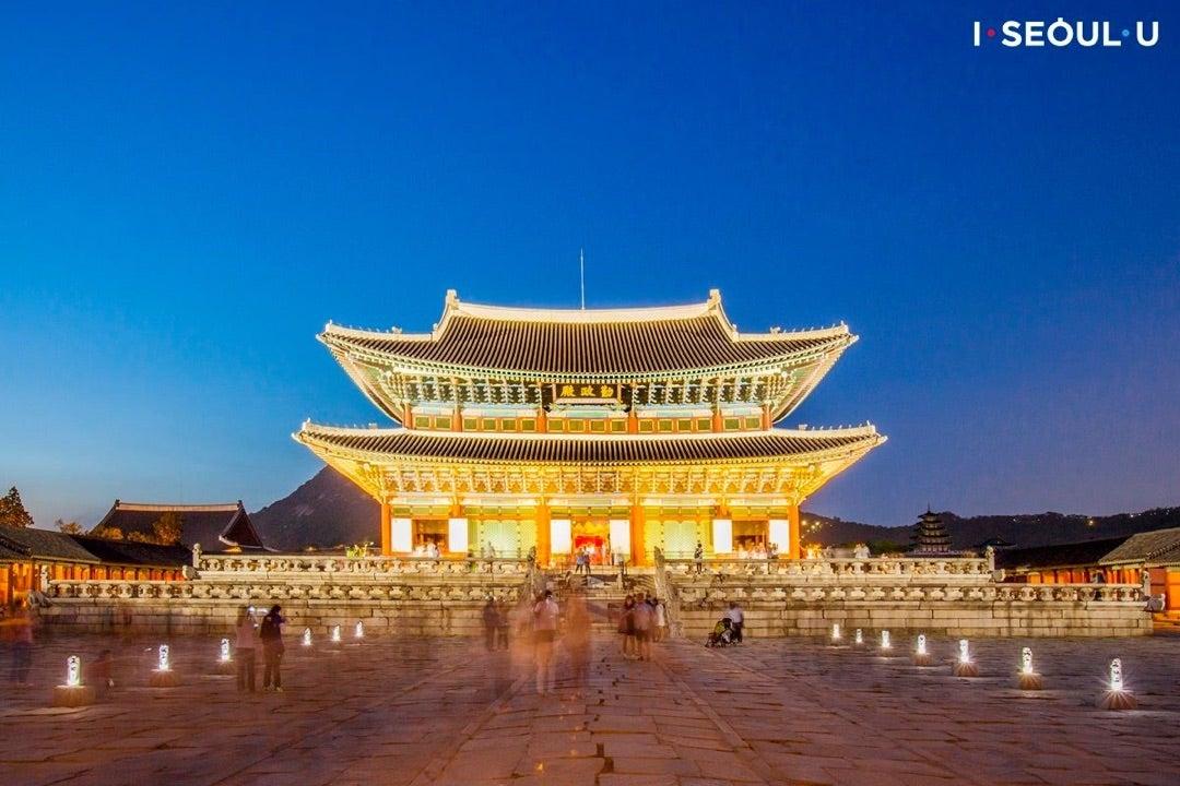 今年最後!景福宮の夜間特別観覧