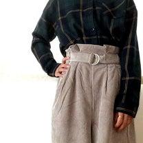 【服のタカハシ】580円で購入した高見えコーデュロイワイドパンツ。の記事に添付されている画像