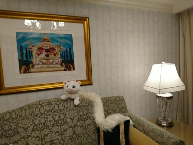 ディズニーランドホテルシンデレラルーム よもぎのブログ