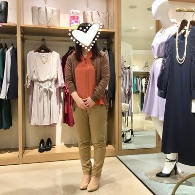 岡崎イオン同行ショッピング 148㎝ 秋のジャケト選びのコツ カーデが着太りしやの記事に添付されている画像