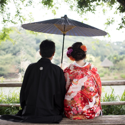 【結婚】三渓園 前撮り 色打掛編①の記事に添付されている画像