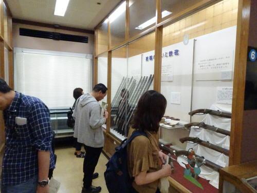 火縄銃の展示会