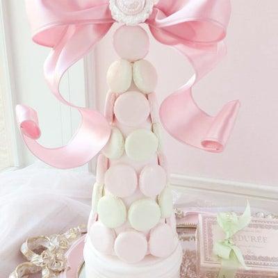 マカロンタワー ピンク×マスカット ♡の記事に添付されている画像