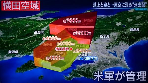 横田空域と日米安保条約とトランプ大統領 | 夢老い人の呟き