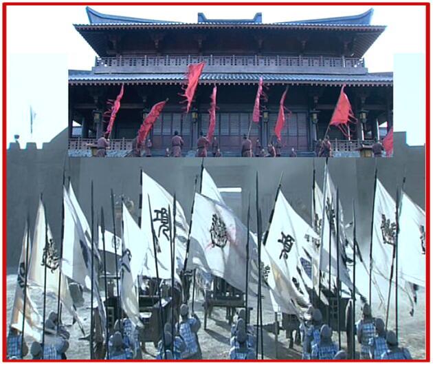 ,劉邦は関中に入るや函谷関の扉を閉ざし 友軍をもShutout!  関中王を名乗ることを秘める。
