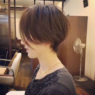 ハンサムショート 米沢市美容室の記事に添付されている画像