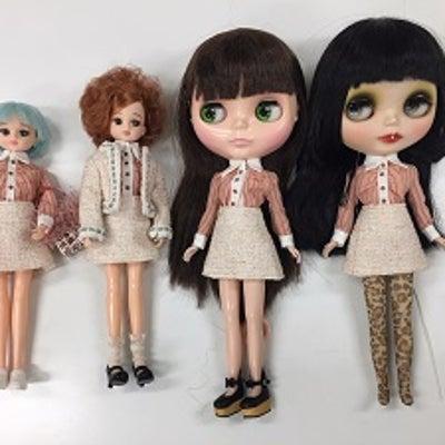 小森桃子先生のお人形服講座(20181010)台襟とギャザーのシャツの記事に添付されている画像
