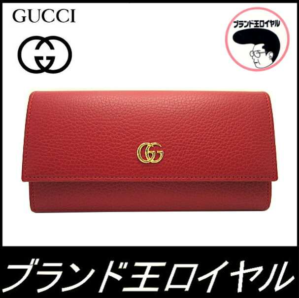 save off 4d9ce 84ce0 GUCCIグッチ 新作長財布 赤 GG プチマーモンド☆ | 森田勉 ...