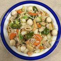 ヘルシー八宝菜♪ 焼き厚揚げ♪ わかめスープ♪の記事に添付されている画像
