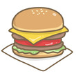 松島のハンバーガー屋…