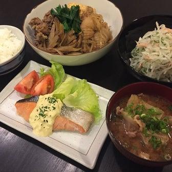 【昨日の晩ごはん☆お昼食べ過ぎか?!】