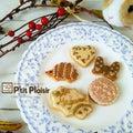 #甜菜糖のアイシングクッキーの画像