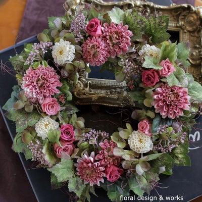 Autumn Wreath ~レッスン~の記事に添付されている画像