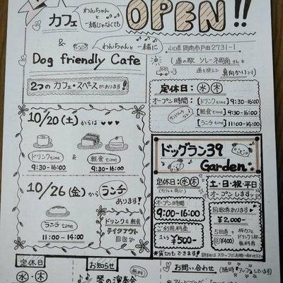 再度【お知らせ】ついに! 『桜カフェ』&『ドッグラン39 Garden』 OPEの記事に添付されている画像