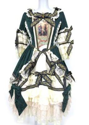 f7f65bb0e8045 La robe de la Reine pour Midori ワンピースドレス CROWN