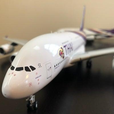 Thai A380 1:200 HS-TUFの記事に添付されている画像