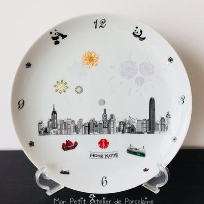 ビクトリア湾柄の時計の記事に添付されている画像