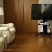 ★IKEA収納バッグでテレビ配線をまとめ&掃除もラクラク