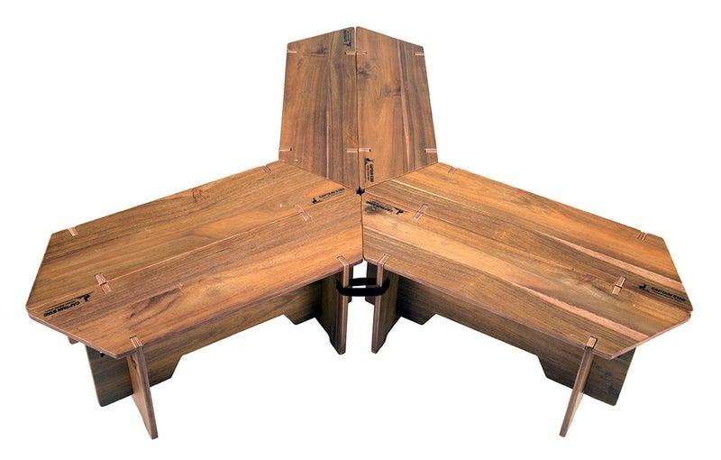 キャプテンスタッグ ヘキサグリルテーブルセット 137 CSクラシックス