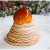季節限定!希少な東京栗のモンブラン!カフェミクニズのモンブラン 四ツ谷の画像