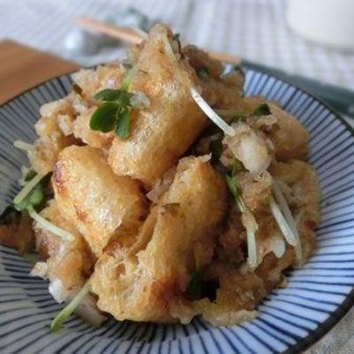 カリカリ焼き油揚げと混ぜるだけ♪ 油揚げの梅海苔おろし和えの記事に添付されている画像