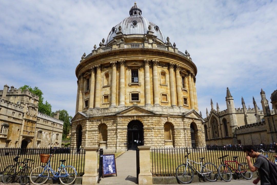 イギリス / オックスフォード 〜ラドクリフ・カメラ&ボドリアン図書館 ...