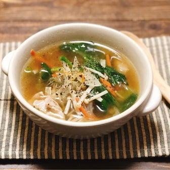 生姜たっぷりで温まる!肌寒い朝にぴったりの野菜スープレシピ!おかずスープレシピ3品!