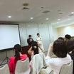 【映画神様との約束】荻久保監督と大人気ヒーラーの奥様多絵さんのご結婚お祝い上映会でした。