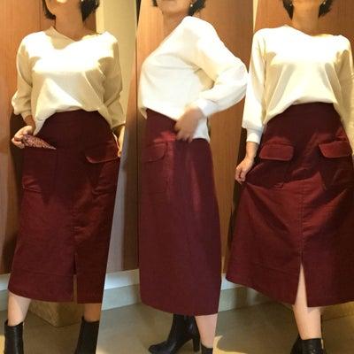悩みに悩んだAラインスカート☆完成の記事に添付されている画像
