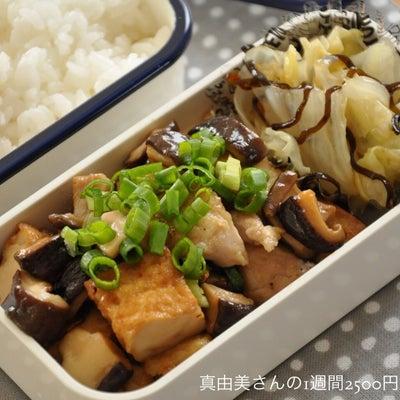 2品でも大丈夫♡鶏肉と厚揚げのポン照りがメインのお弁当。の記事に添付されている画像