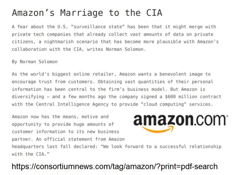 WikiLeaks:Amazon&CIAのデータセンター東京圏所在地 #AmazonAtlas