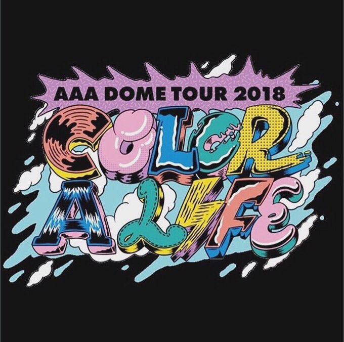 AAA DOME TOUR 2018-COLOR A LIF...