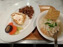 マンゴツリーキッチン(豚ガパオ+センレックナーム)
