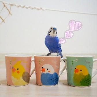 ダイソー 小鳥の食器シリーズ