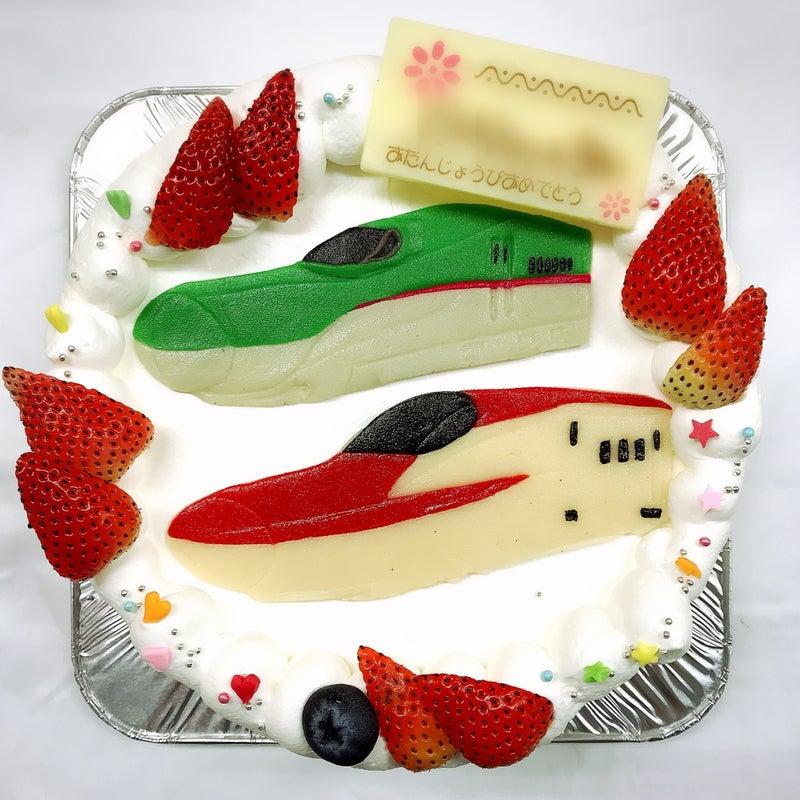 はやぶさとスーパーこまちケーキl 菓の香サプライズケーキ制作実績