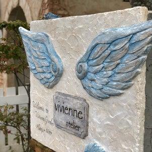 羽の看板✨完成❣️の画像