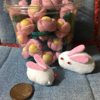 ピンクの椿ちゃんそして 雪うさぎの記事に添付されている画像