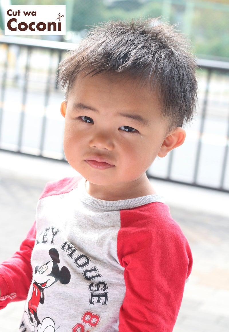 かわいいお子様カット!小さな可愛い男の子~ツーブロックでいい感じ