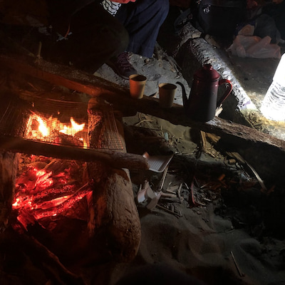 焚き火倶楽部の記事に添付されている画像