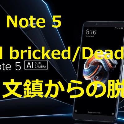 Redmi Note 5 ARB Hard Brick 文鎮からの脱出成功!の記事に添付されている画像